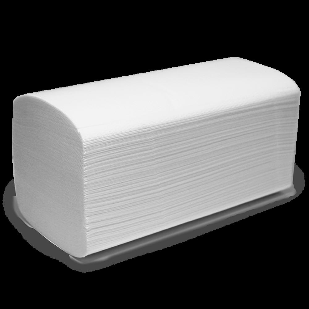 """V2200 Бумажные листовые полотенца """"EXTRA"""" V-сложения 2 слоя 15 пачек"""