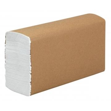 """Z2150 Бумажные листовые полотенца """"EXTRA"""" Z-сложения  2 слоя 150 листов"""