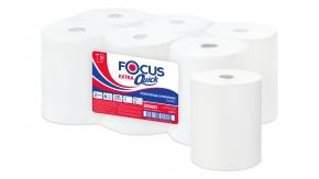 5050023 Бумажные рулонные полотенца FOCUS Extra Quick.