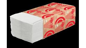 5049974 Бумажные листовые полотенца Focus Premium 23x20,5x200 V-сложение