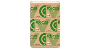 5049976 Бумажные листовые полотенца Focus Eco 23x23x250 V-сложение