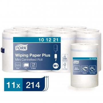101221 Протирочная бумага Tork Advanced Плюс с центральной вытяжкой.
