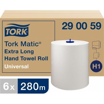 290059 Бумажные рулонные полотенца Tork Matic® Universal (ультрадлинные)