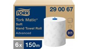 290067 Бумажные рулонные полотенца Tork Matic® Advanced