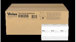 KW208 Бумажные листовые полотенца W-сложение Veiro Professional Comfort