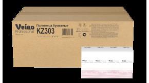 KZ303 Бумажные листовые полотенца Z-сложение Veiro Professional Premium