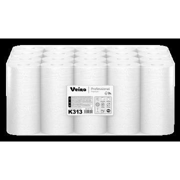 K313 Полотенца бумажные рулонные бытовые Veiro Professional Premium