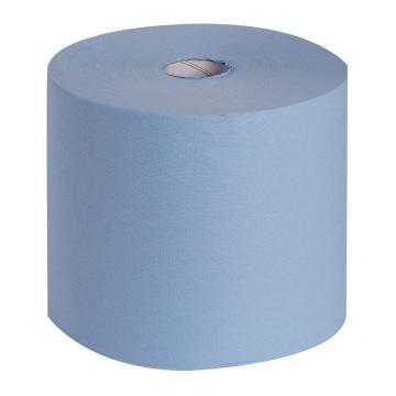 WIPE1 Протирочный материал, синий 2 слоя, р\л: 24*35 см, 350 метров.