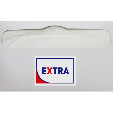 """7235 Туалетное покрытие на унитаз """"EXTRA"""" 1/2 сложения, 235 штук"""
