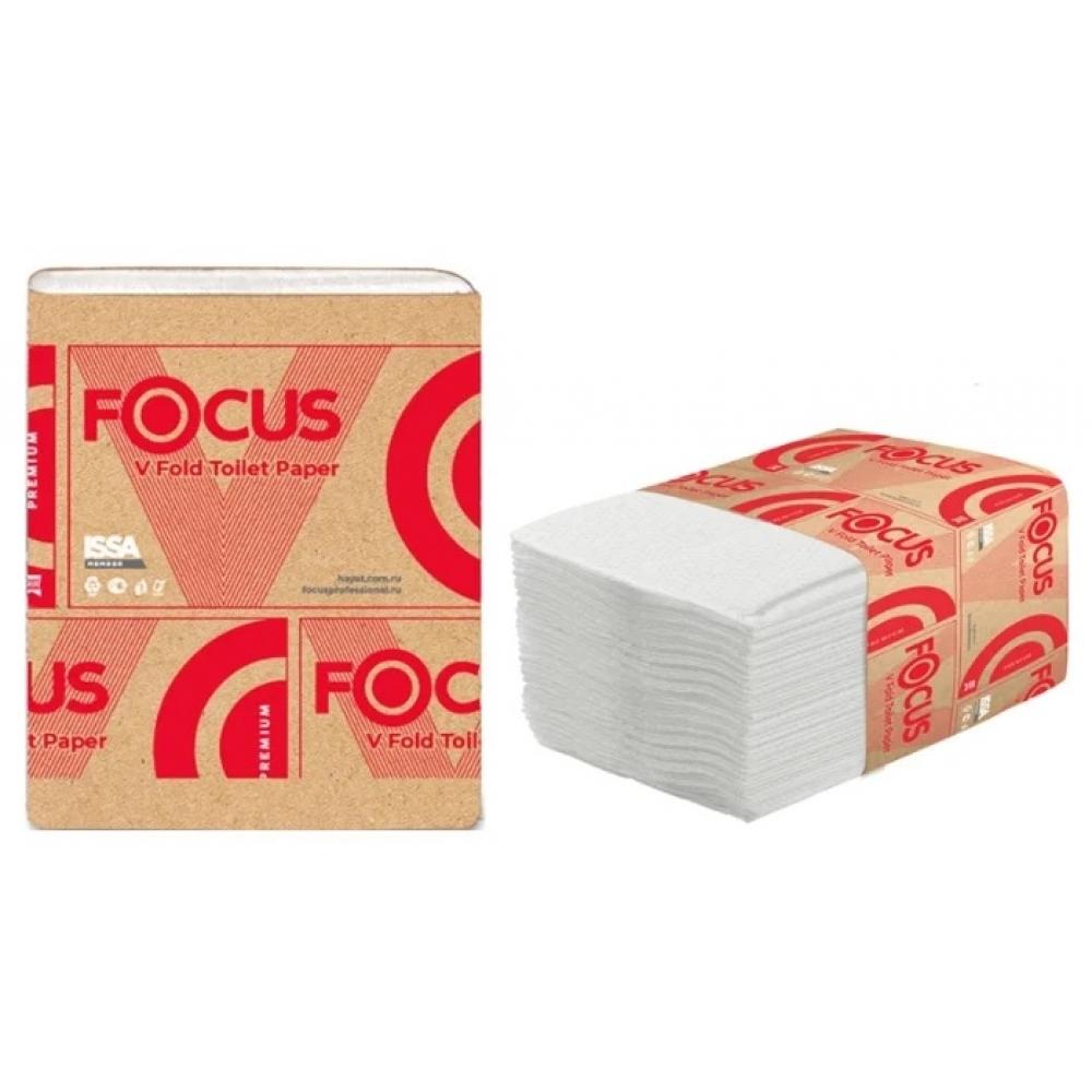 5049979 Туалетная бумага V-сложение  Focus V-Fold 2 слоя, 250 листов