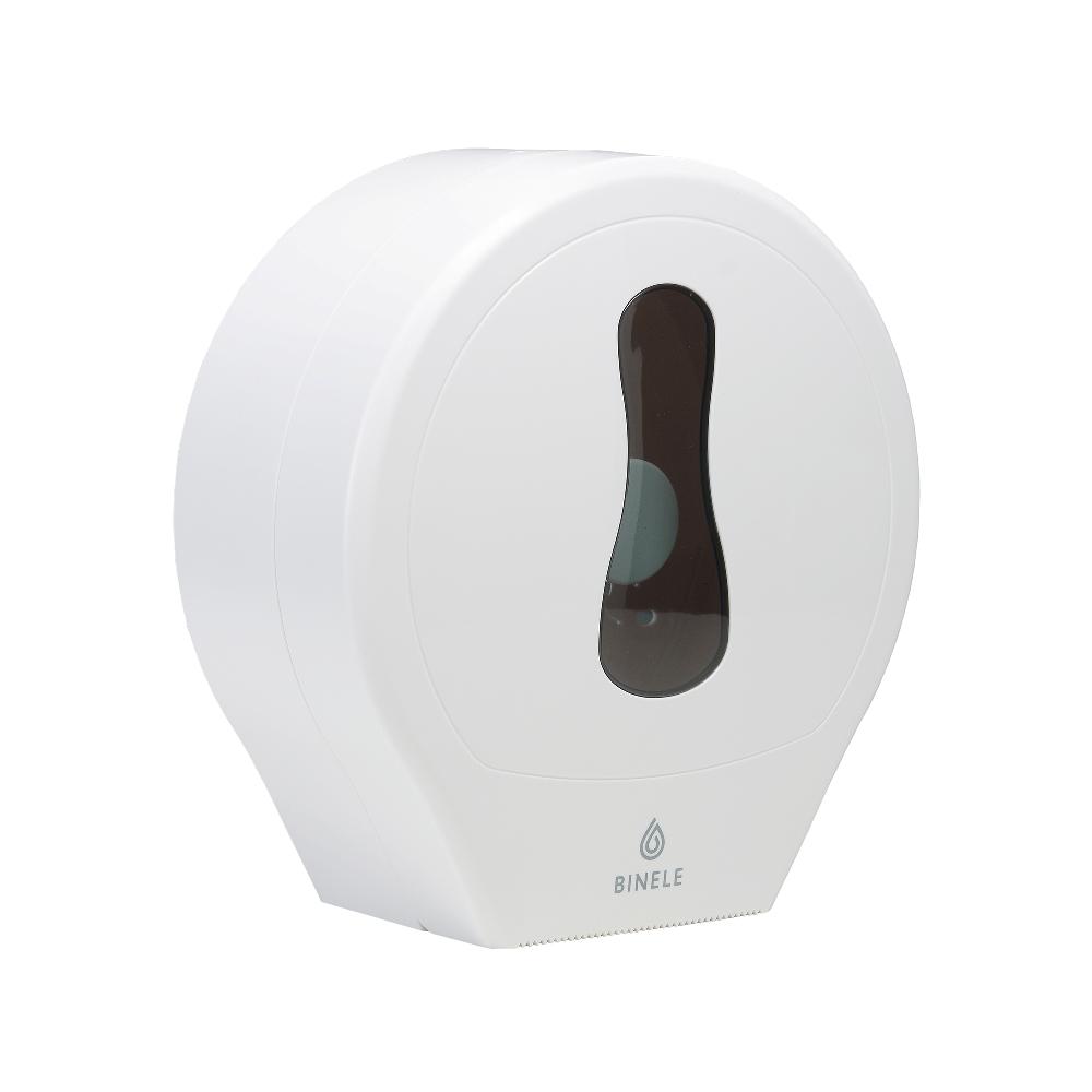 DP01RW Диспенсер ВINELE rType для туалетной бумаги в рулонах (белый)