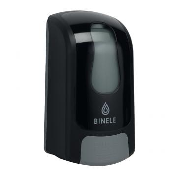 DF01RB Диспенсер BINELE mFoam для мыла-пены наливной, 1л. (черный)