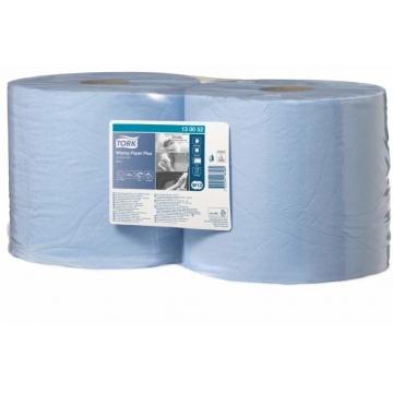 130052 Tork Плюс протирочная бумага в рулоне со съемной втулкой голубая