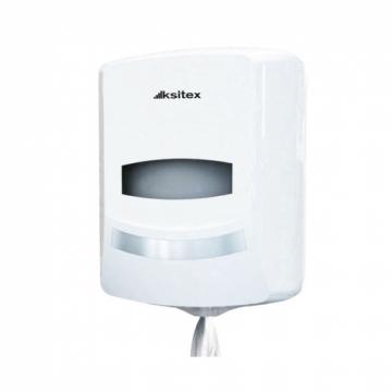 Ksitex ТН-8030А Диспенсер для рулонных бумажных полотенец (белый). Серия Элит