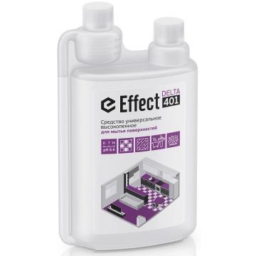 401 Effect DELTA 1л. д/мытья поверхн. (дезинфектор, ежедн. уборка, изд. из кожи) 1л 1/5