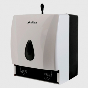 Ksitex ТН-8218А Диспенсер для листовых и рулонных бумажных полотенец.