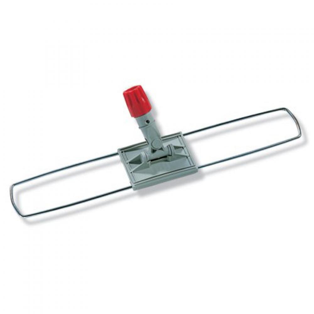 401911 Флаундер для сухой уборкискладная рама из нержавеющей стали, с центральным шарниром и 2-мя педалями. 80х9 см