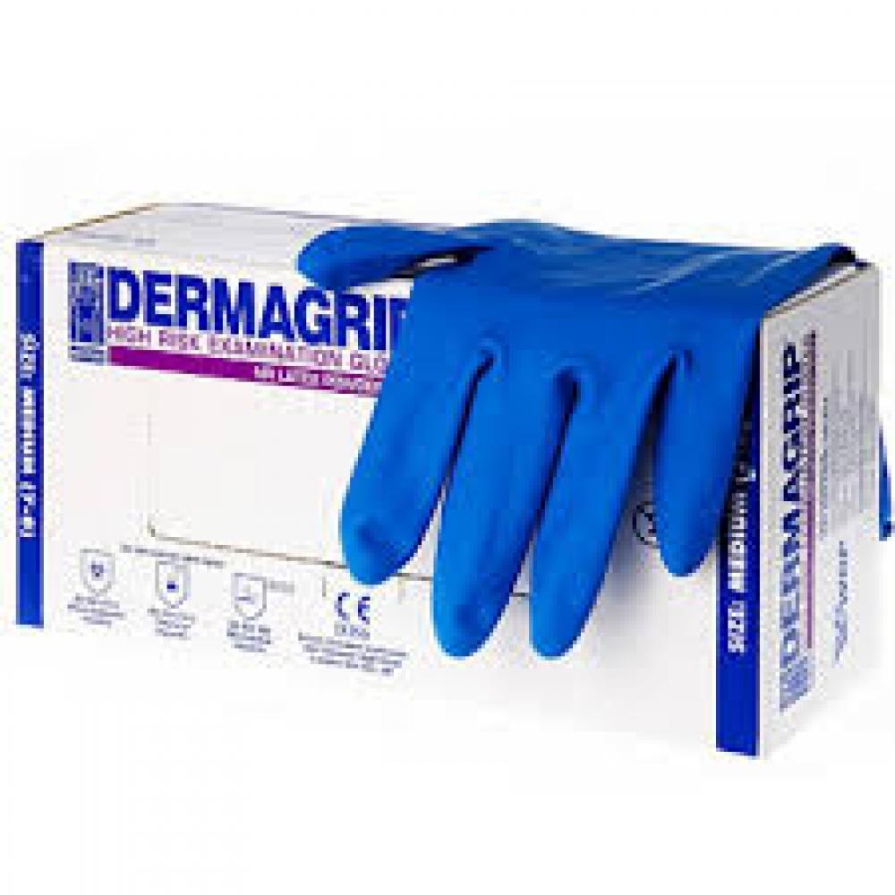 403181 Перчатки латексные 'DERMAGRIP HIGH RISK' M - 403181, 12 штук в упаковке
