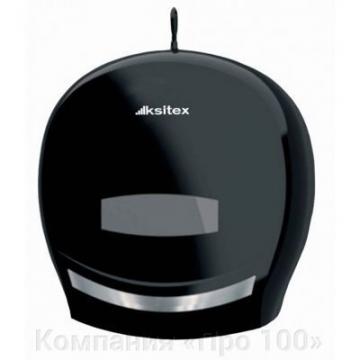 Ksitex TH-8001В Диспенсер для туалетной бумаги (черный). Серия «Элит»