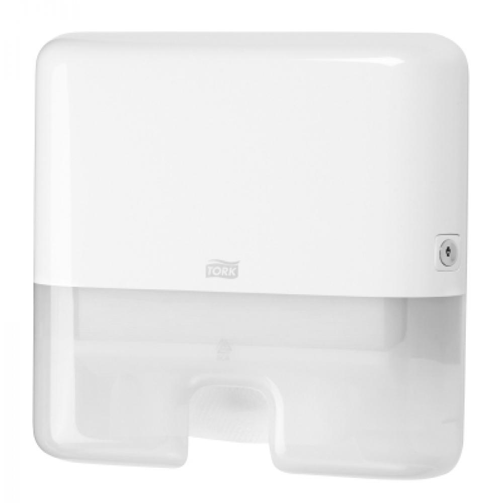 552100 Tork Xpress® держатель для листовых полотенец сложения Multifold белый мини