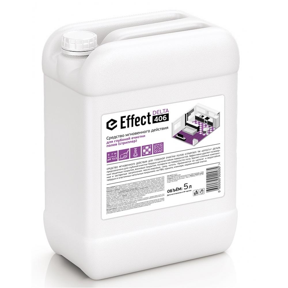 406 Effect DELTA 5л д/ глубокой очистки полов (стриппер) 5л 1/2