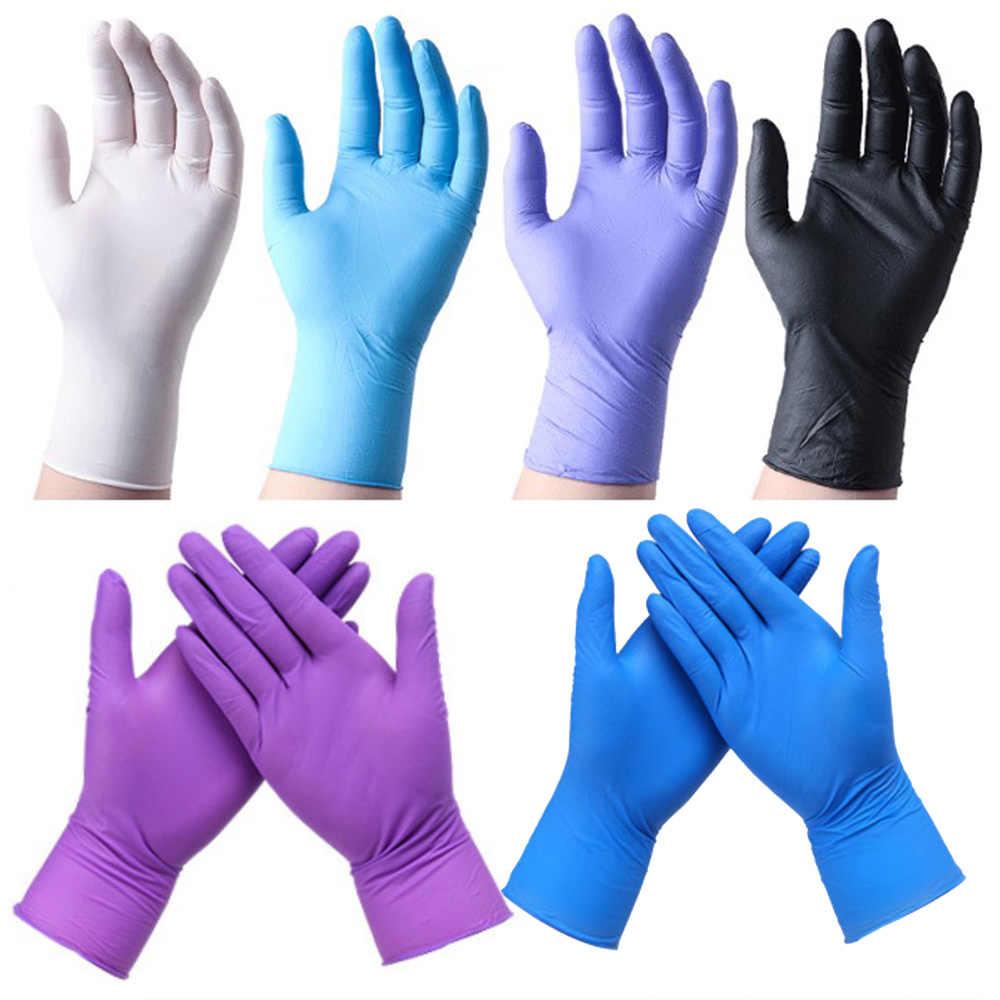 Перчатки нитриловые 100 штук в упаковке