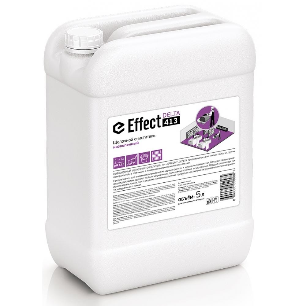 413 Effect DELTA 5л щелочн. низкопенный очиститель (д/полов, стен и др) 5л 1/2