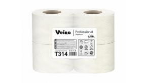 T314 Туалетная бумага в стандартных рулонах Veiro Professional Premium 2слоя 20метров