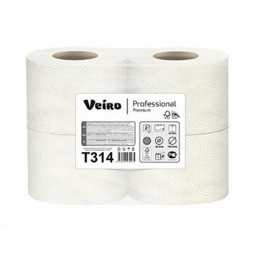 T314 Туалетная бумага Veiro Professional Premium 2 слоя, 20 метров