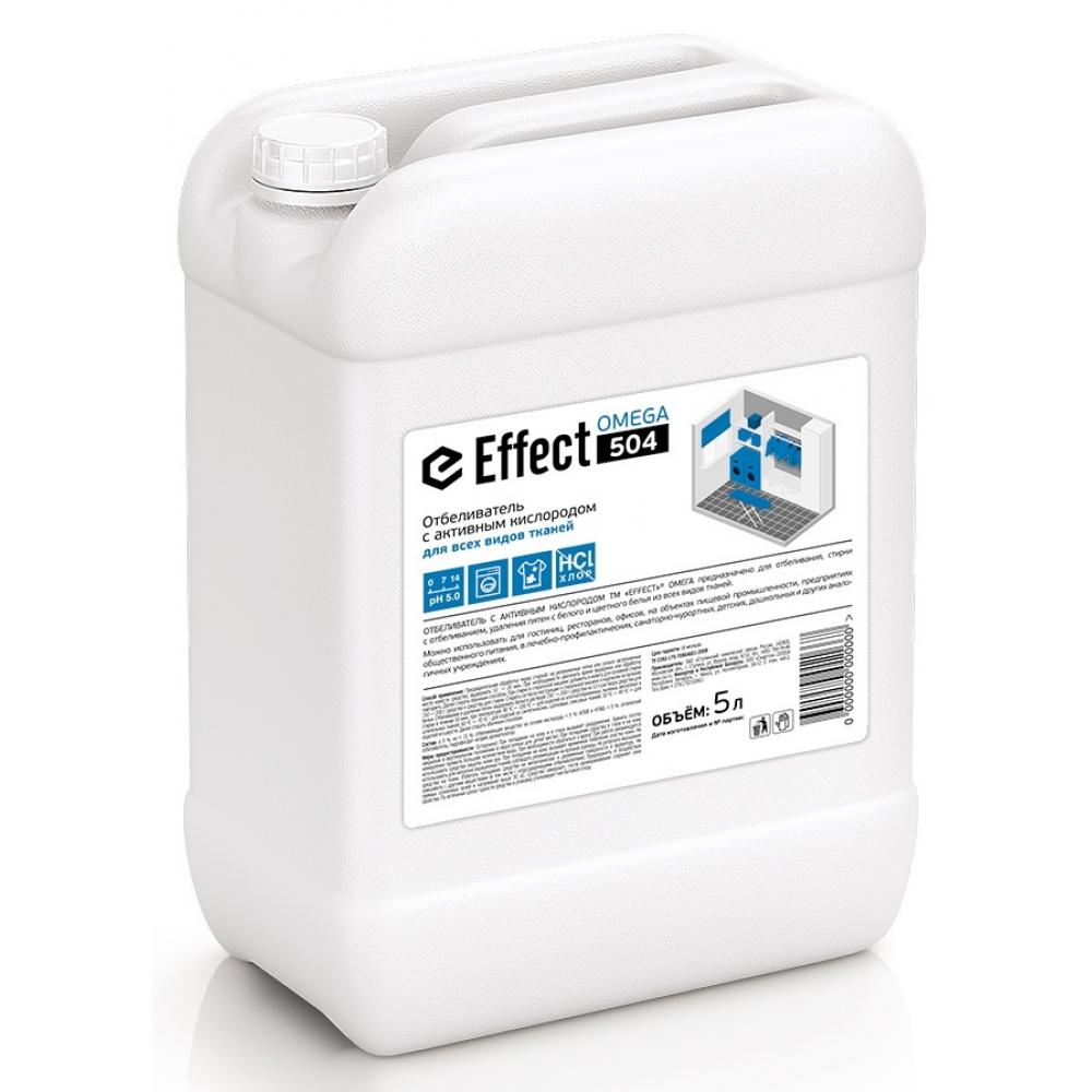 504 Effect OMEGA 5л отбеливатель для белого и цветного (без хлора) 5л 1/2