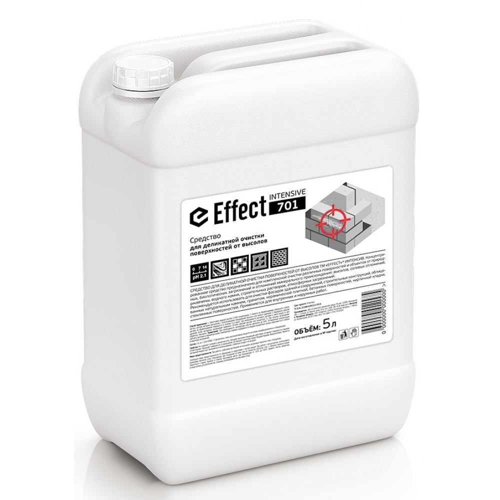 701 Effect INTENSIVE 5л д/удаления высолов (мрамор,нат.камень) 5л 1/2