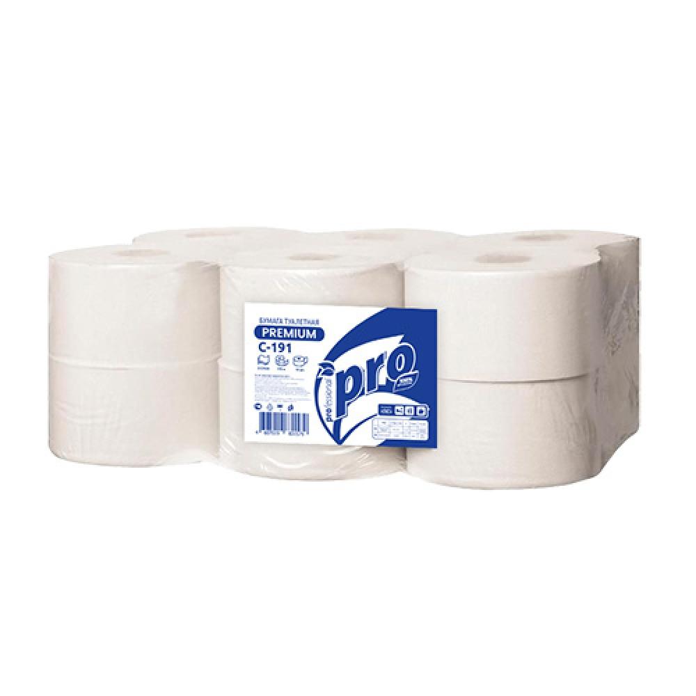 С191 Туалетная бумага PROtissue 2слоя, 170 метров