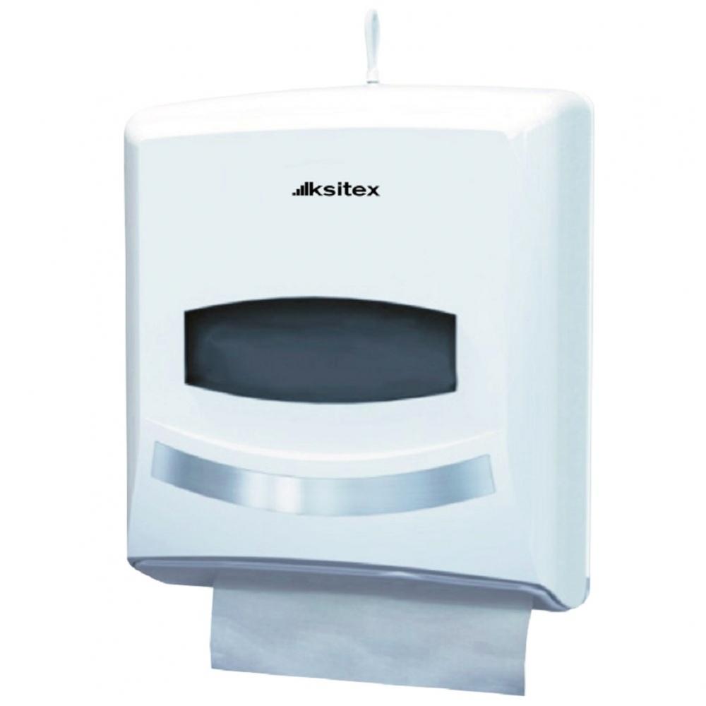 Ksitex ТН-8238А Диспенсер для листовых бумажных полотенец. Серия Элит