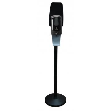 SF06AB Комплект мобильной стойки с сенсорным наливным диспенсером BINELE (черная)