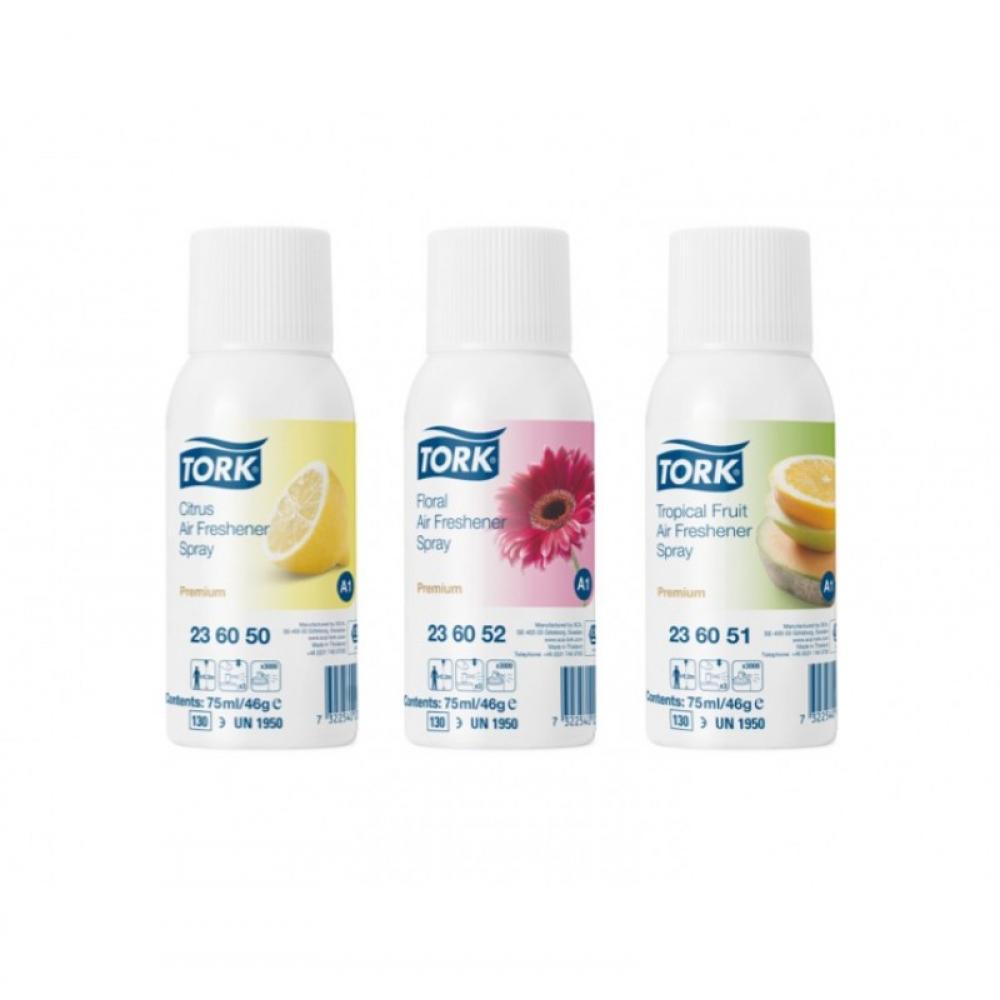 236052 Tork аэрозольный освежитель воздуха, цветочный аромат