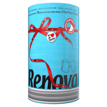 "RP 2921 Полотенца бумажные ""Renova Red Label"" 2 слоя, 1 рулон"