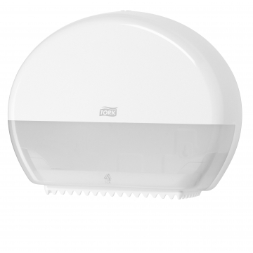 555000 Tork Elevation держатель для туалетной бумаги в мини-рулонах белый