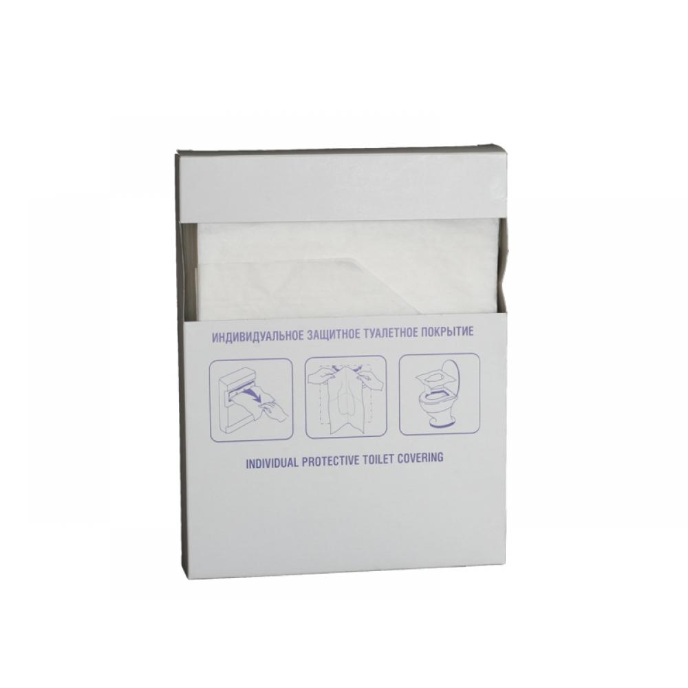 Туалетное покрытие для унитаза 1/4 слож. для держателей MERIDA, ASTER, LIME mini, 16пач х 100шт/ кор - tp-2
