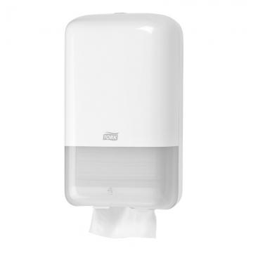 556000 Tork держатель для листовой туалетной бумаги белый