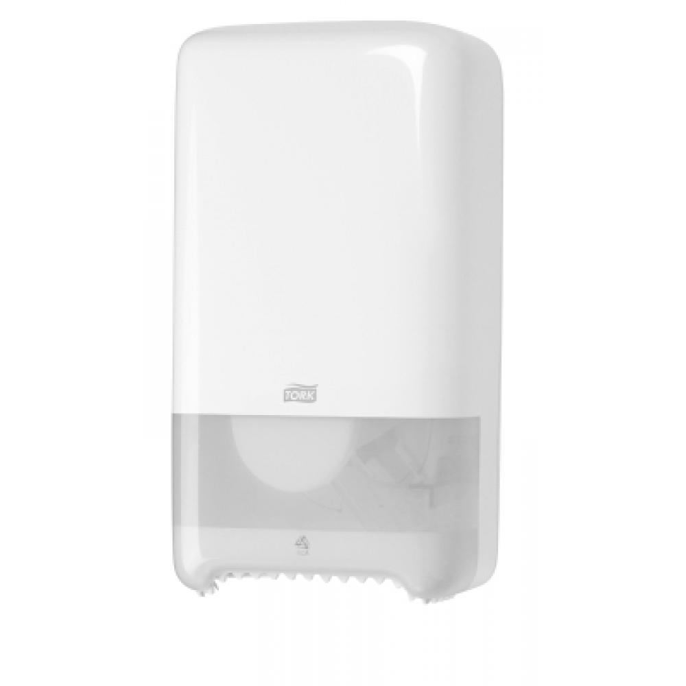 557500 Tork держатель для туалетной бумаги Mid-size в миди рулонах белый