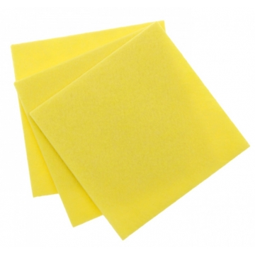 Вискозное нетканое полотно 80г/м2 желтый салфетка 0,3х0,38м