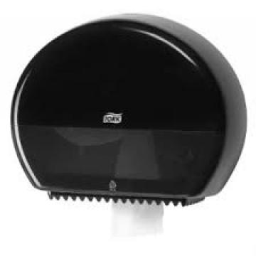 555008 Tork Elevatio держатель для туалетной бумаги в мини-рулонах черный