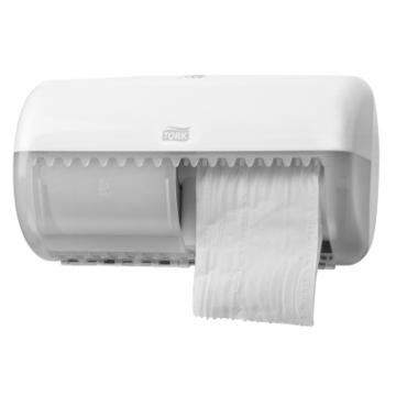 557000 Tork держатель для туалетной бумаги в стандартных рулонах белый