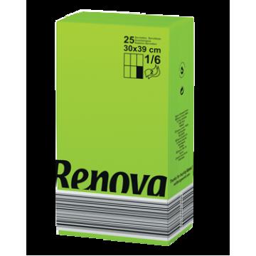 "RS 182 Салфетки бумажные ""Renova Red Label 2Р 1/6"" Green 18 пачек"
