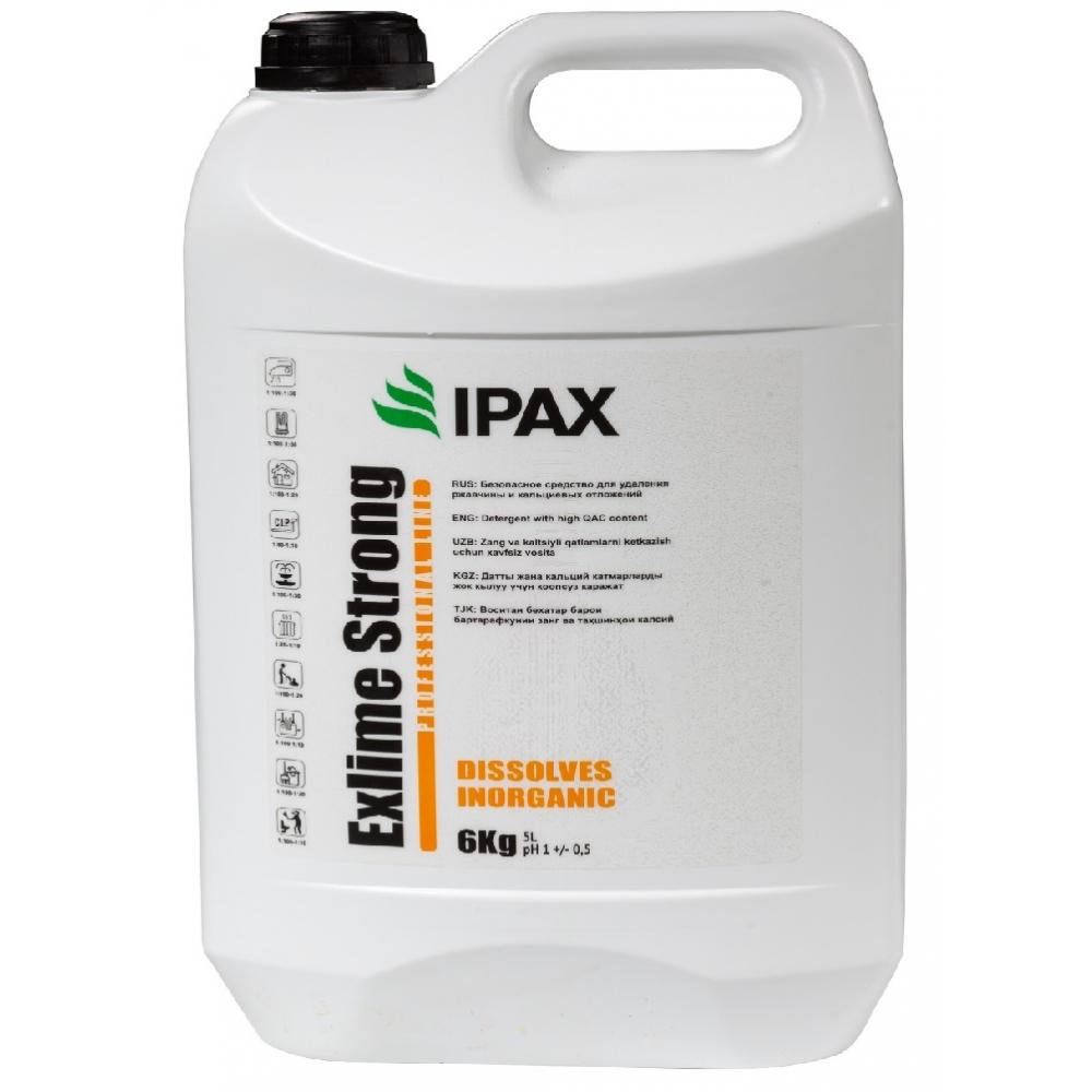 ЭКСТ-5 Средство для удаления ржавчины, мин. отложений и после строительной уборки IPAX Exlime Strong 5кг.