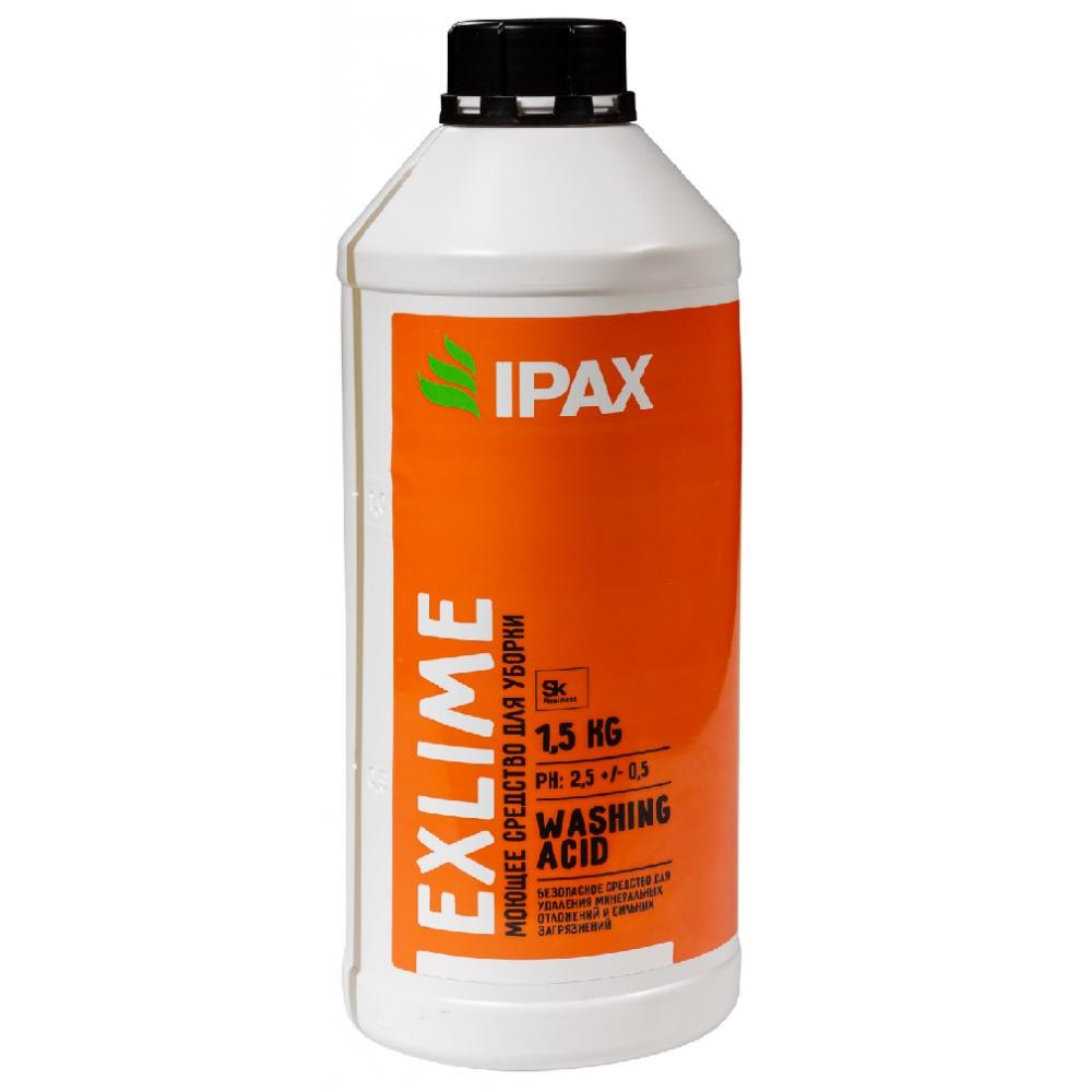 Эк-1.5 Средство для удаления ржавчины, мин. отложений и после строительной уборки IPAX Exlime 1.5кг.