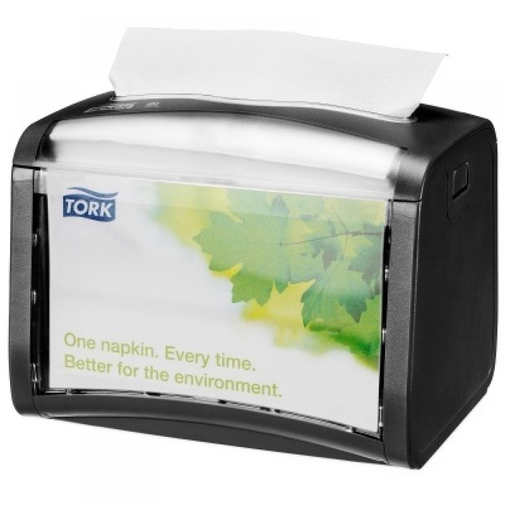 272611 Tork Xpressnap® чёрный настольный диспенсер для салфеток системы N4