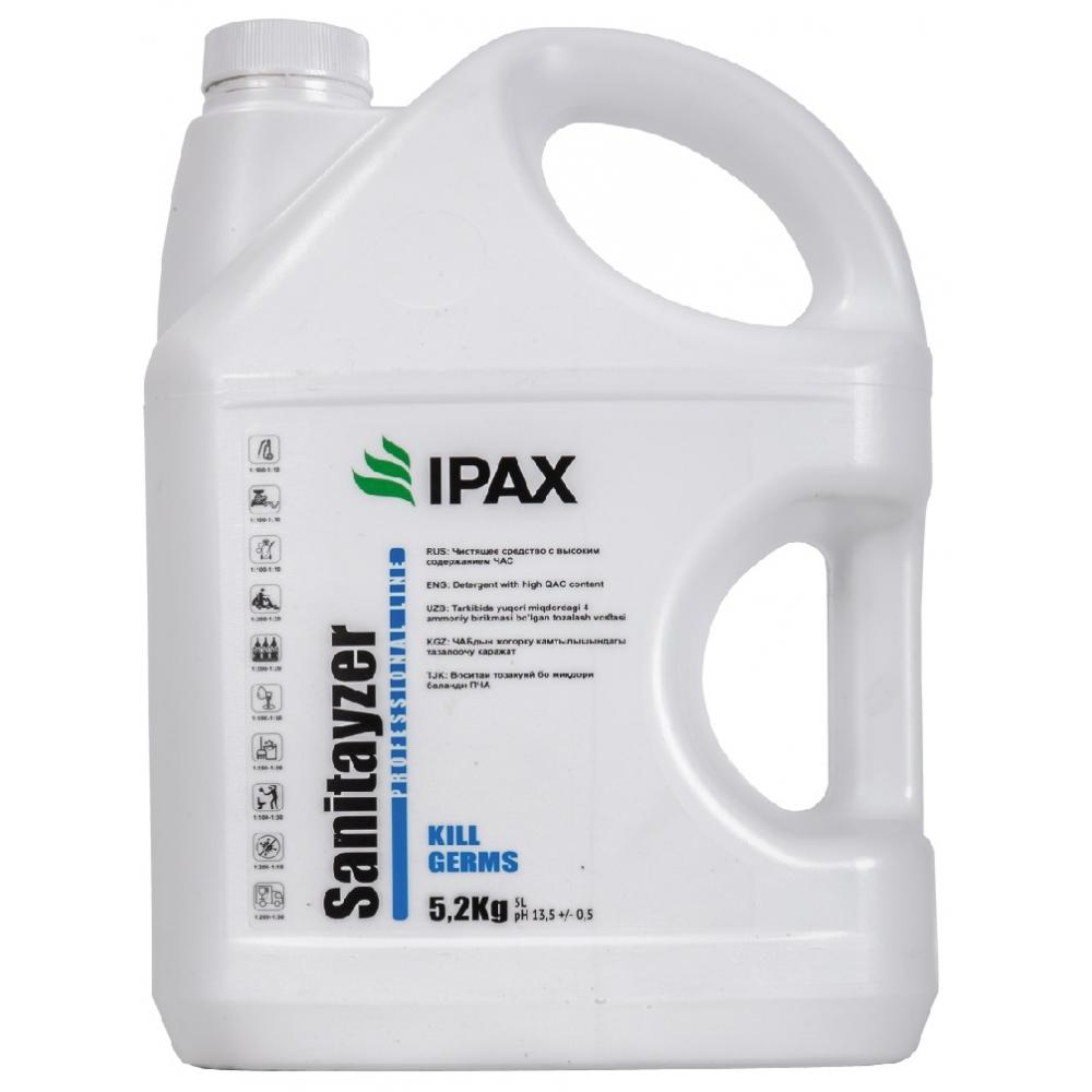 САН-5л Моющее средство с дезинфицирующим эффектом IPAX Sanitayzer 5кг.