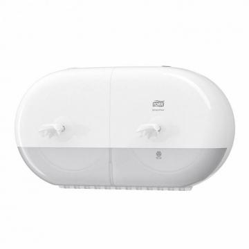 682000 Tork SmartOne® двойной диспенсер для туалетной бумаги в мини-рулонах