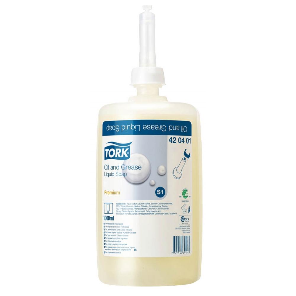 420401 Tork жидкое мыло-очиститель для рук от жировых и технических загрязнений